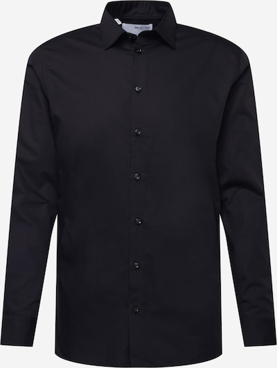 SELECTED HOMME Hemd 'Ethan' in schwarz, Produktansicht