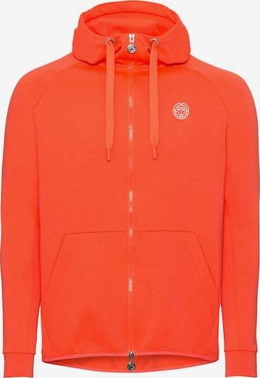 BIDI BADU Sweatjacke mit Kapuze in orange, Produktansicht