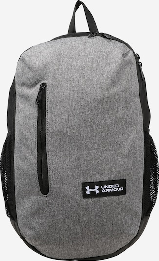UNDER ARMOUR Sports backpack 'Roland' in grey mottled / black, Item view
