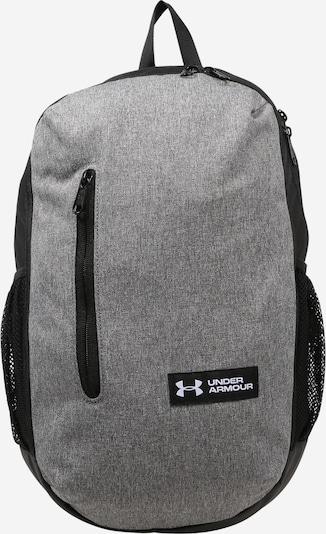 UNDER ARMOUR Sportryggsäck 'Roland' i gråmelerad / svart, Produktvy