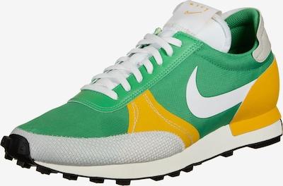 Nike Sportswear Baskets basses 'DBreak-Type' en jaune d'or / vert clair / blanc, Vue avec produit