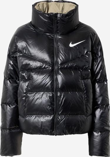 Nike Sportswear Winter jacket in black / white, Item view