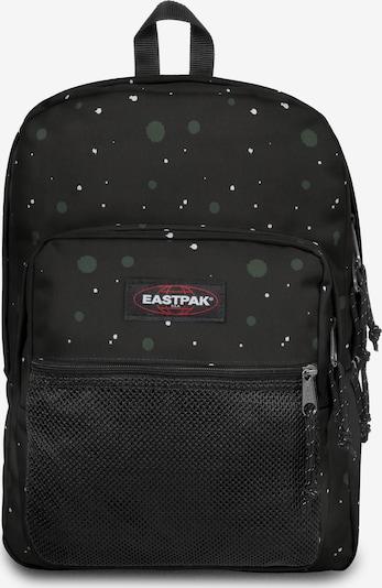 EASTPAK Rucksack 'Pinnacle ' in dunkelgrün / rot / schwarz / weiß, Produktansicht