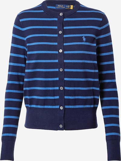 POLO RALPH LAUREN Knit cardigan in navy / sky blue, Item view