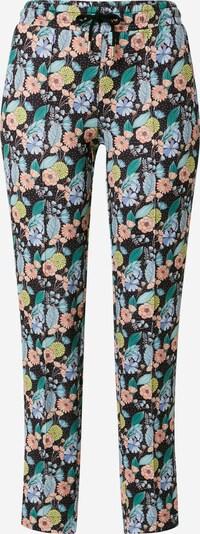 Rich & Royal Pantalon en mélange de couleurs / noir, Vue avec produit