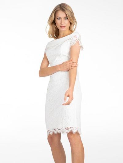 APART Spitzenkleid in creme, Modelansicht