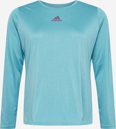 ADIDAS PERFORMANCE Camiseta funcional 'UFORU' en turquesa / ciruela, Vista del producto