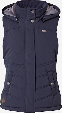 Ragwear Vest 'Hesty' in Blue