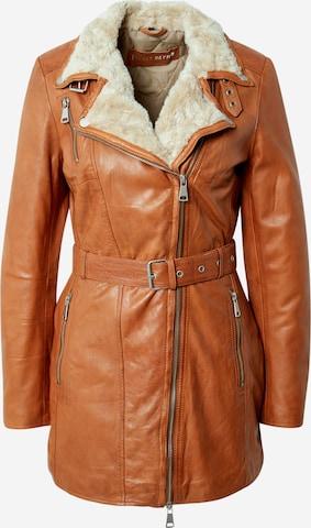 FREAKY NATION Overgangsjakke 'Polar Day' i brun