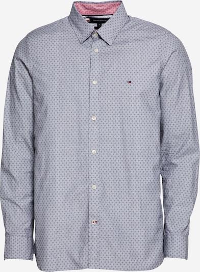 TOMMY HILFIGER Hemd in hellblau / dunkelblau, Produktansicht