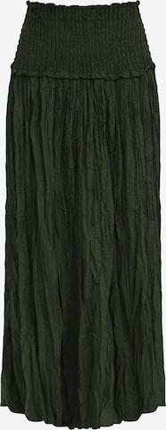 Finn Flare A-Linien-Rock in Green