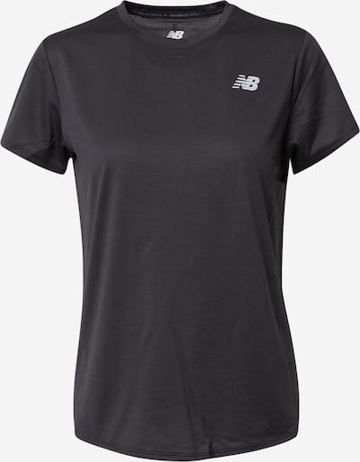 new balance Funktionsshirt in schwarz, Produktansicht