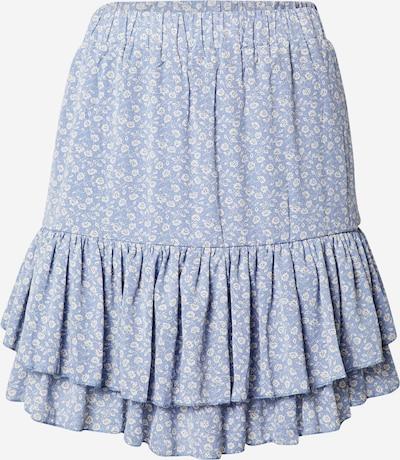 SISTERS POINT Rok 'GROW' in de kleur Beige / Lichtblauw / Zwart, Productweergave