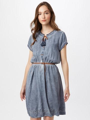 Eight2Nine Košeľové šaty - Modrá