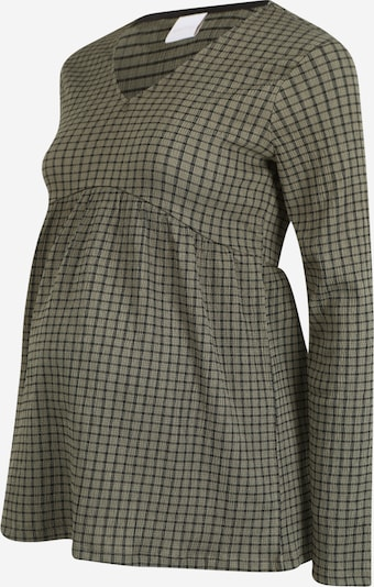MAMALICIOUS Shirt in dunkelgrau / oliv / schwarz, Produktansicht