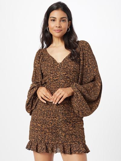 Ted Baker Šaty 'Wyatte' - karamelová / umbra, Model/ka