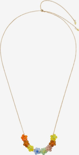 MANGO Necklace 'Tito' in Light blue / Yellow / Gold / Orange / Pink, Item view