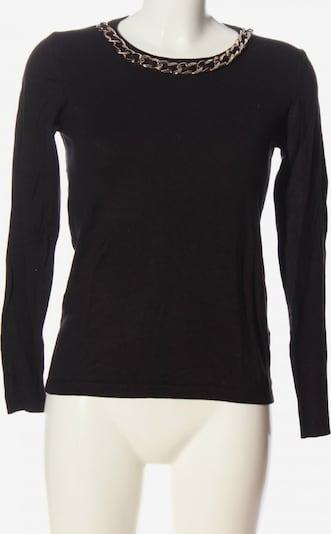 Forever Rundhalspullover in S in schwarz, Produktansicht