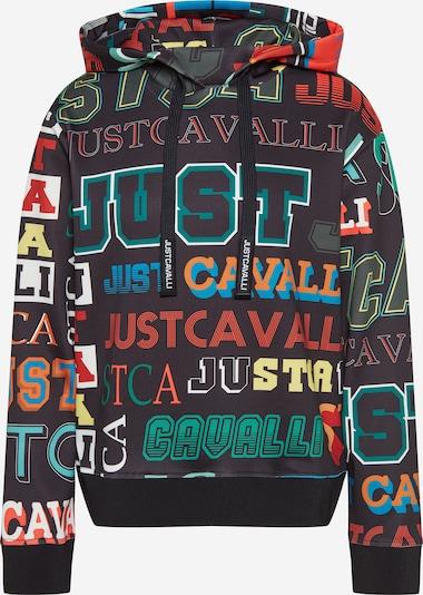 Megztinis be užsegimo iš Just Cavalli , spalva - mėlyna / žalia / raudona / juoda / balta, Prekių apžvalga