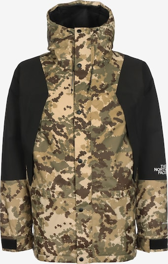 THE NORTH FACE Outdoorjas in de kleur Bruin / Donkergroen / Zwart, Productweergave