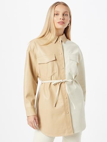 Camicia da donna di VERO MODA in beige