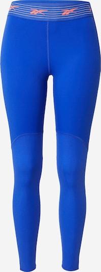 REEBOK Sportovní kalhoty - modrá / oranžová, Produkt