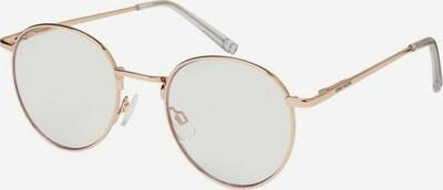 VERO MODA Blaulicht Brille in gold, Produktansicht