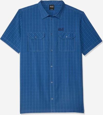 JACK WOLFSKIN Hemd 'Thompson' in nachtblau / taubenblau, Produktansicht