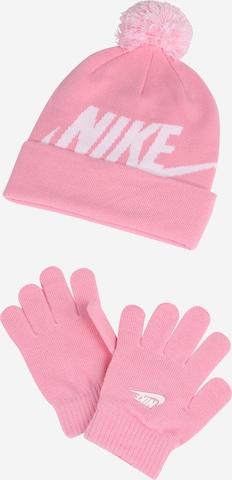 rozā Nike Sportswear Komplekts