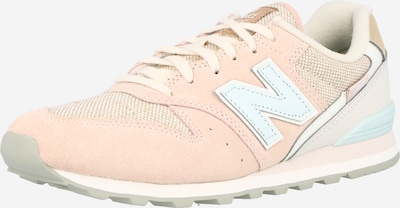 new balance Sneakers laag '996' in de kleur Crème / Turquoise / Rosa, Productweergave