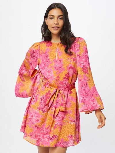 Ted Baker Kleid 'Dolci' in gelb / orange / dunkelpink, Modelansicht