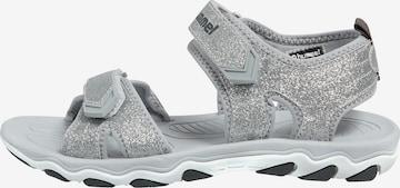 Sandales Hummel en argent