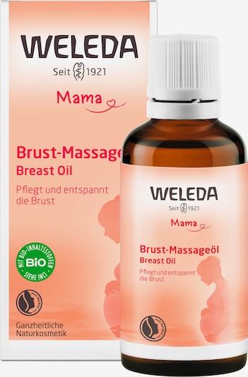 WELEDA Massageöl in transparent: Frontalansicht