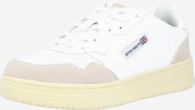 BRITISH KNIGHTS Sneaker 'RIDGE' en camel / blanc, Vue avec produit