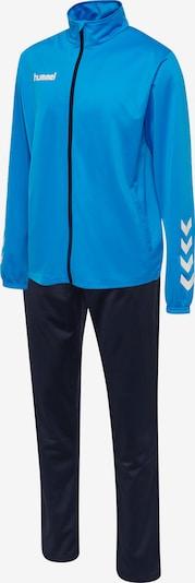 Hummel Trainingsanzug in navy / himmelblau / weiß, Produktansicht