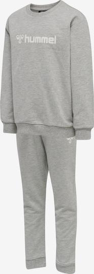 Hummel Trainingsanzug 'Spring' in graumeliert / weiß, Produktansicht