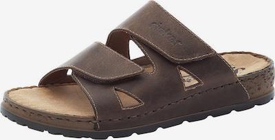 RIEKER Zapatos abiertos en azul castaño, Vista del producto