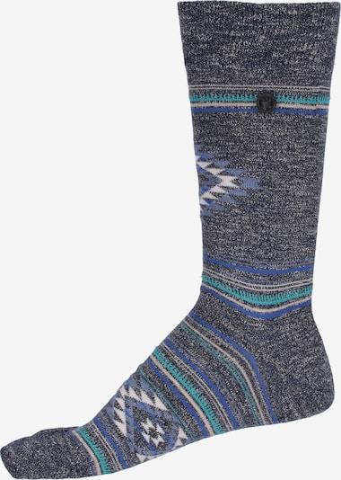 BIRKENSTOCK Socken Cotton Ethno Summer in dunkelgrau / mischfarben, Produktansicht