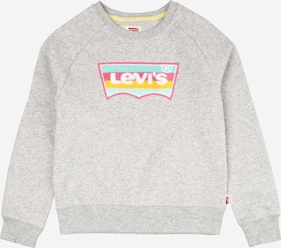 Felpa 'Crew' LEVI'S di colore grigio sfumato / colori misti: Vista frontale