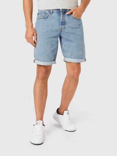 Only & Sons Jeans 'Avi' in de kleur Blauw denim, Modelweergave