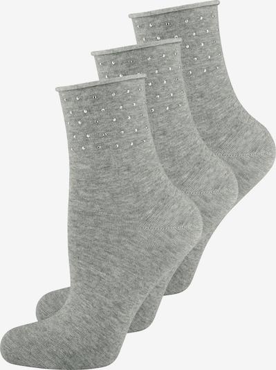 ELBEO Damensocken ' 3-Pack Pure Sparkle ' in grau, Produktansicht
