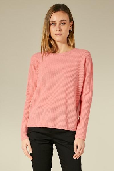 BLOOM Pullover mit geradem Schnitt in pink, Modelansicht