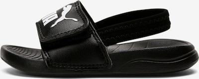 Pantofi deschiși PUMA pe negru / alb, Vizualizare produs