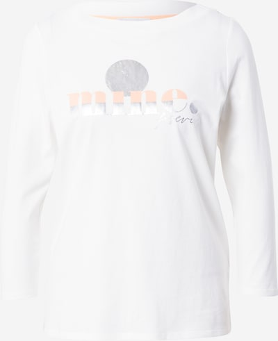 STREET ONE Shirt in Peach / Silver / Off white, Item view
