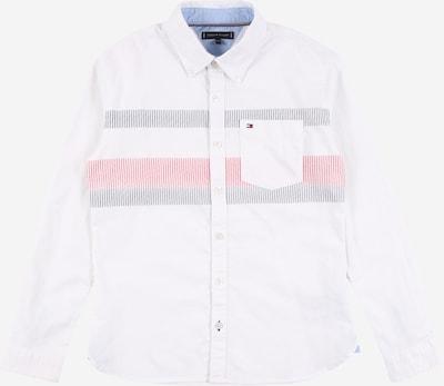 Marškiniai iš TOMMY HILFIGER , spalva - nakties mėlyna / raudona / balta, Prekių apžvalga
