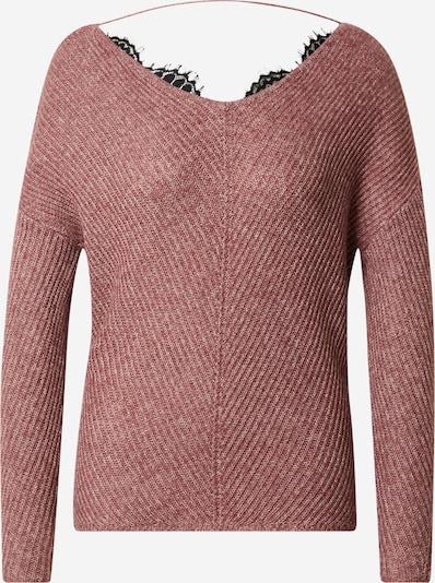VERO MODA Pullover 'Buena Lena' in rosé / schwarz, Produktansicht