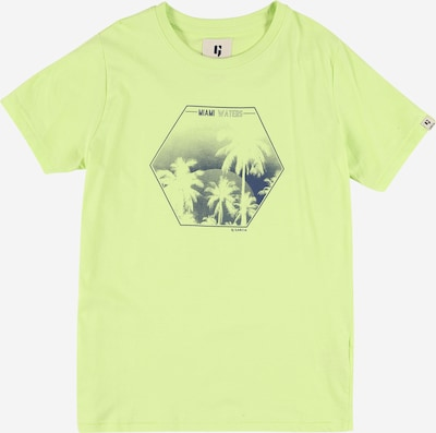 GARCIA Tričko - tmavě modrá / hořčicová, Produkt