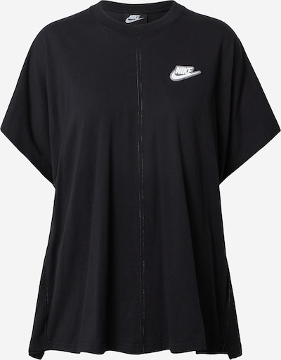 Nike Sportswear Shirt in de kleur Zwart / Wit, Productweergave