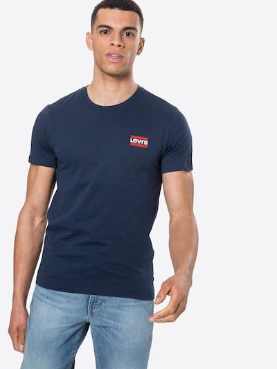 Marškinėliai iš LEVI'S, spalva – tamsiai mėlyna / balta, Modelio vaizdas