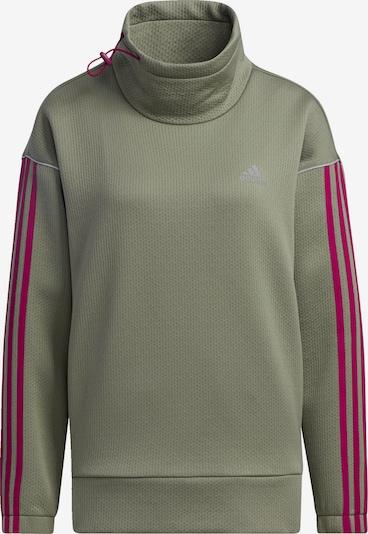 ADIDAS PERFORMANCE Sweatshirt in grün / pink, Produktansicht